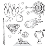 Vector clipart: Games Set