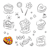 Vector clipart: Holiday Sweets