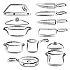Vector clipart: Kitchen Utensils