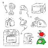 Vector clipart: Kitchen Equipment