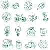 Vector clipart: Ecology Set