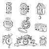 Vector clipart: Watches