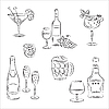 Vector clipart: Alcohol Drinks