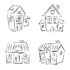 Houses Set | Stock Vector Graphics
