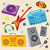 Vector clipart: Music Set