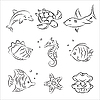 Vector clipart: Sea Life