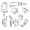 Vector clipart: Painting tools