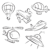 Vector clipart: Air Transport