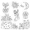 Vector clipart: Christmas Decorations & Gifts Set