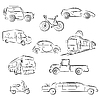 Vector clipart: City Transport