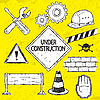 Under Construction Set | Stock Vector Graphics