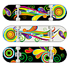 Three Skateboard Designs