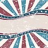 Old American Wave Background Grunge