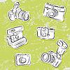 Vector clipart: Cameras