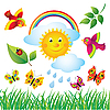 Vector clipart: Spring Nature