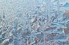 Photo 300 DPI: Frosty pattern background