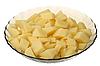 Cleared potato | Stock Foto