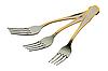 Three forks   Stock Foto