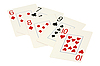 ID 3060872 | Five playing cards | High resolution stock photo | CLIPARTO