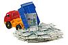 트럭 러시아 돈 | Stock Foto