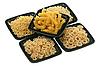 Photo 300 DPI: Pasta in five bowls