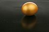 Gold egg | Stock Foto