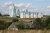 Photo 300 DPI: modern buildings in Minsk