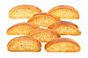 Crackers with poppy | Stock Foto