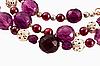Violet beads | Stock Foto