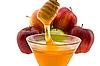 Miód i jabłka | Stock Foto