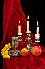 ID 3067398 | Tasse, Früchte und Kerzen | Foto mit hoher Auflösung | CLIPARTO