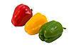 Traffic light (three sweet pepper) | Stock Foto