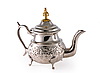 Ancient silver teapot | Stock Foto