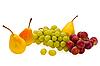 Photo 300 DPI: pears and grape