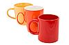 Kubki ceramiczne   Stock Foto