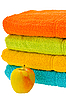 Varicoloured towels | Stock Foto