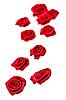 Fabric roses | Stock Foto