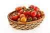 Basket with tomatoes | Stock Foto