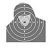 Векторный клипарт: Мишени для стрельбы