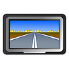 Векторный клипарт: GPS навигация