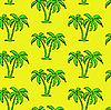 Векторный клипарт: Бесшовный фон пальмы