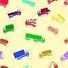 Векторный клипарт: автомобиль обои бесшовные