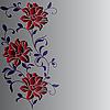 Векторный клипарт: цветочный паттерн