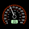 Vector clipart: car speedometers for racing design.