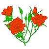 Floral design element   Stock Vector Graphics