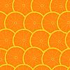 Векторный клипарт: Грейпфрут бесшовный узор фон