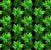 Векторный клипарт: Бесшовный фон из листьев