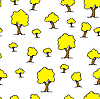 ID 3069072   Seamless tree plant pattern background in   Stock Vector Graphics   CLIPARTO