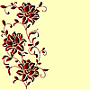 Vector clipart: flower pattern
