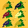 Vector clipart: Set of currants